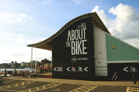 The Cycle Hub building