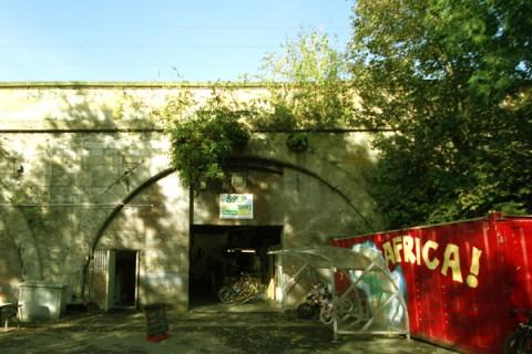 The shop at Recyke Y'Bike