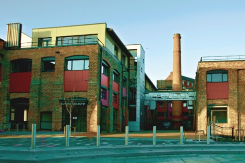 The Toffee Factory building