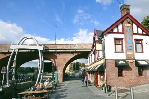 Photo of outside the Tyne Bar