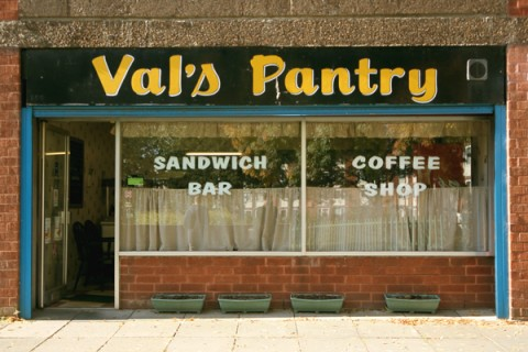 Shopfront of Val's Pantry