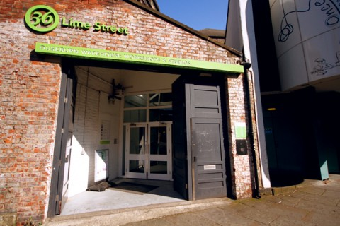 The front of Lime Street Studios