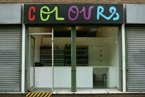 Shopfront of Colours